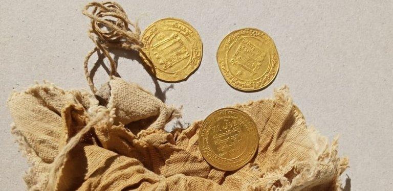 Российские археологи нашли в Египте золото Аббасидов