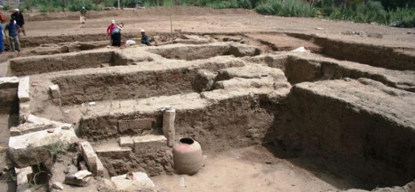 ВЕгипте раскопан большой дом римского времени